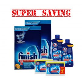 FinishPowder3kgX2&JetDry207X2&DualActionX2-Super Saving