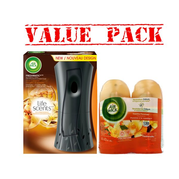 Freshmatic Automatic Spray&2sprays-ValuePack3