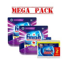 Finish64X2&2pk DiswashCleaner MegaPack-1
