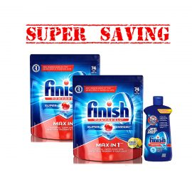 Finish74X2 &207JetDry-Super Saving3