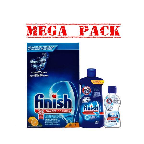FinishPowder3kg&JetDry207&JetDry66-Mega Pack
