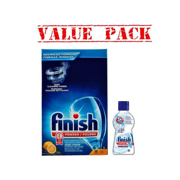 FinishPowder3kg&JetDry66- Value Pack