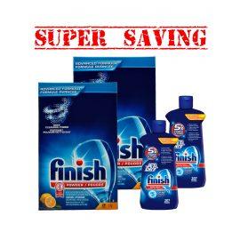 FinishPowder3kgX2 &JetDry207X2-Super Saving