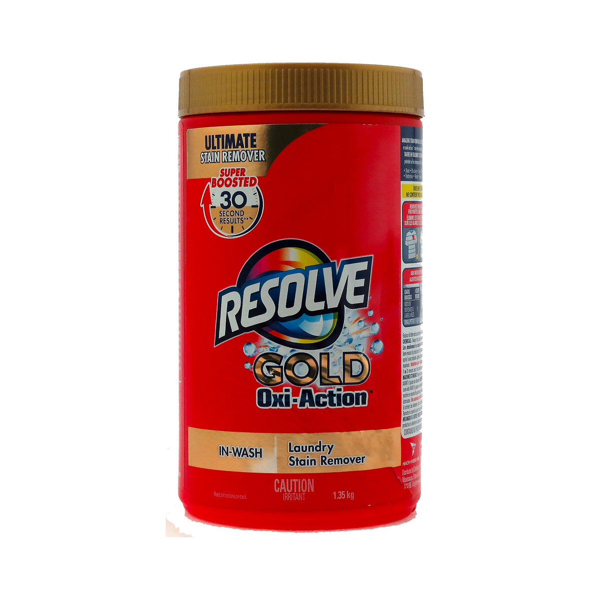Resolve Laundry Stain Remover Gold Oxi Action 1 35 Kg